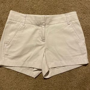 J.Crew White Chino Shorts 11 inches long